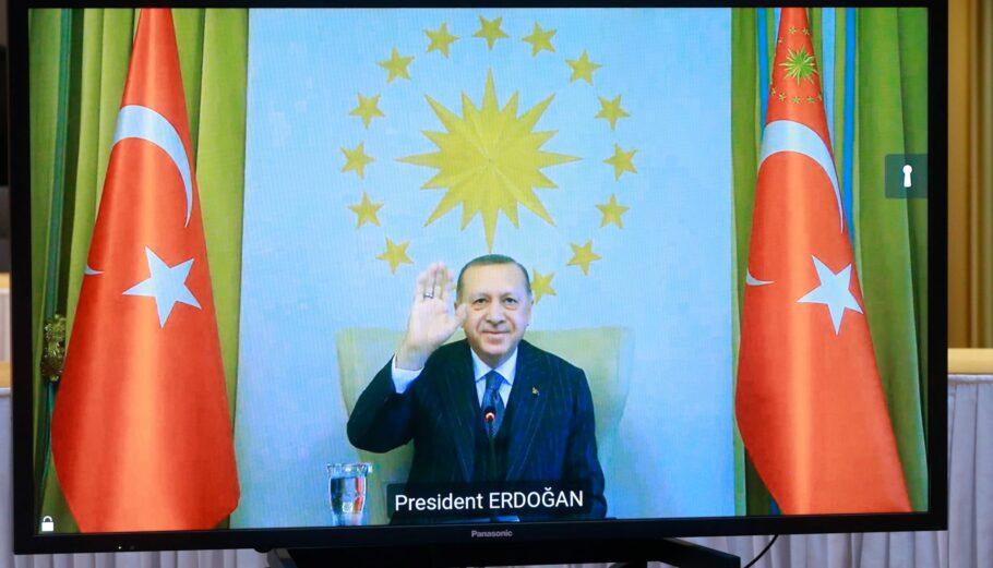 Ερντογάν: «Τα ψέματα και οι συκοφαντίες εναντίον μας έχουν