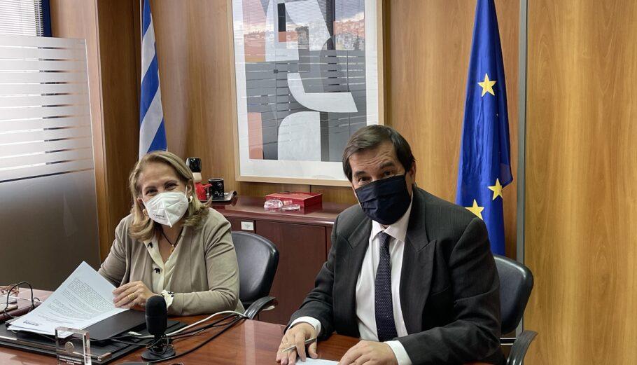 Μνημόνιο Συνεργασίας υπέγραψαν Ελληνική Αναπτυξιακή Τράπεζα και Εθνικό Μετσόβιο Πολυτεχνείο