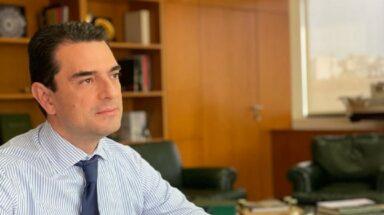 Σκρέκας: Πώς θα γίνει η ενεργειακή μετάβαση της Ελλάδας