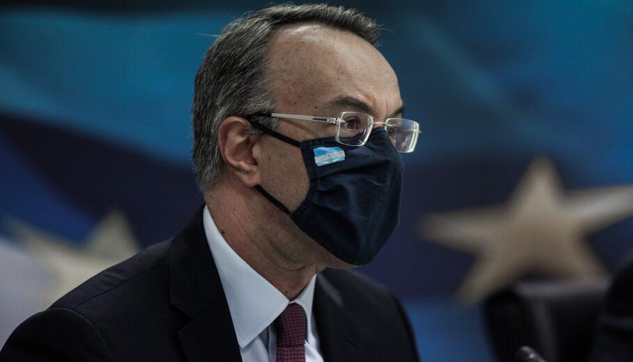 Ο Υπουργός Οικονομικών, Χρήστος Σταϊκούρας/ Πηγή: EUROKINISSI