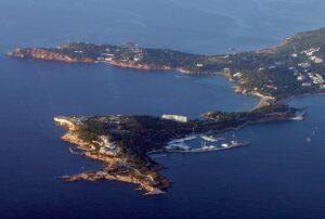 Αεροφωτογραφία του Αστέρα Βουλιαγμένης @ΑΠΕ-ΜΠΕ