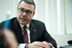 O CEO της Alpha Bank Βασίλης Ψάλτης © Alpha Bank