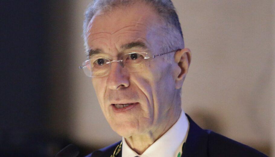 Ο πρόεδρος της Alpha Bank Βασίλης Ράπανος © Eurokinissi