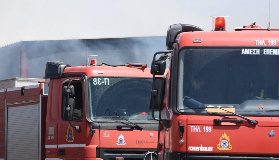 Πυροσβεστικά οχήματα @ Eurokinissi