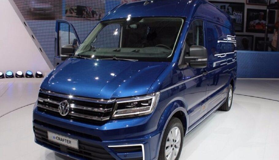 Volkswagen: Το νέο ηλεκτρικό e-Crafter έχει αυτονομία 173 χιλιομέτρων