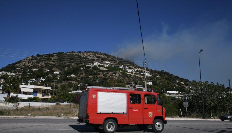 Nέα φωτιά στην Ρόδο ©SOOC