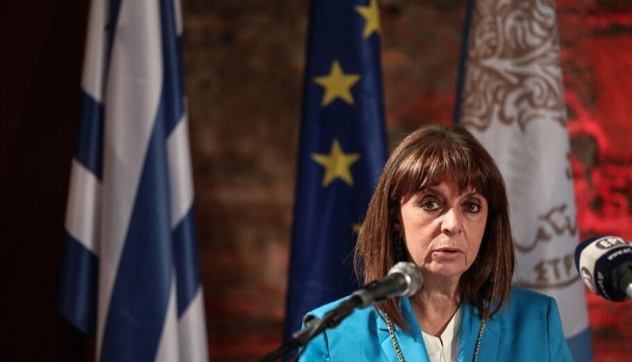 ΑΠΘ: Επίτιμη διδάκτορας της Νομικής θα αναγορευτεί η Κ. Σακελλαροπούλου
