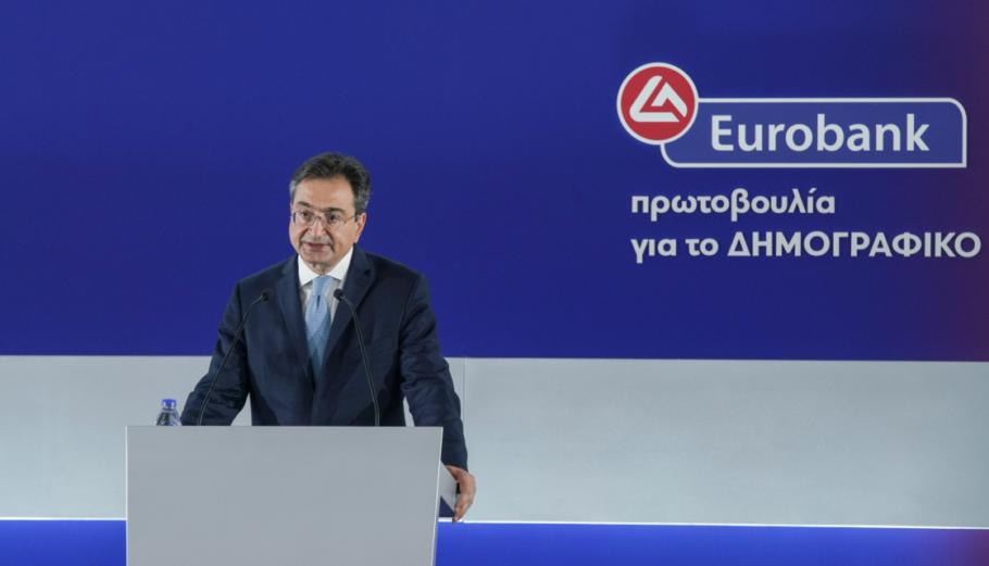 Ο CEO της Eurobank Φωκίων ΞΚαραβίας @Eurobank