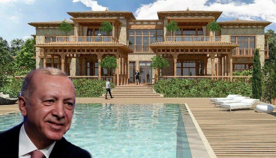 Σάλος με το θερινό παλάτι του Ερντογάν