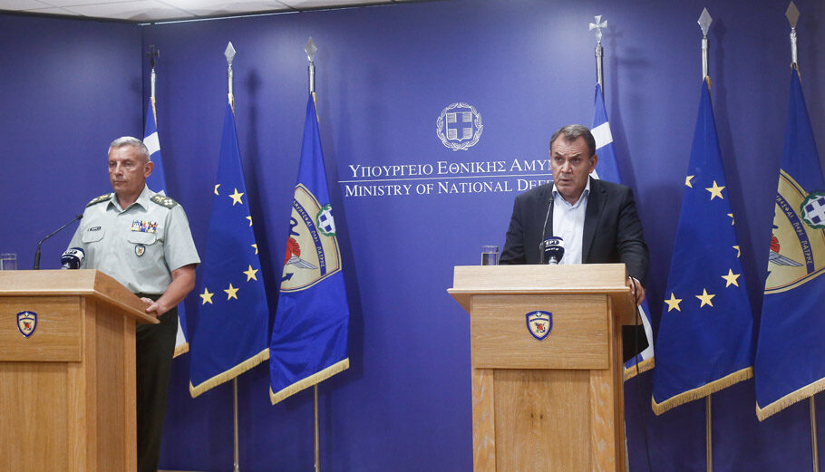 Κωνσταντίνος Φλώρος - Νίκος Παναγιωτόπουλος © ΑΠΕ-ΜΠΕ