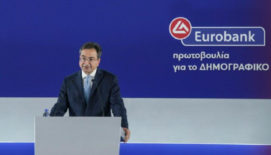 Ο CEO της Eurobank Φωκίων Καραβίας @Eurobank