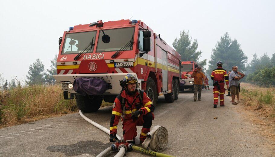 Πολύ υψηλός κίνδυνος πυρκαγιάς σε 4 Περιφέρειες την Τετάρτη