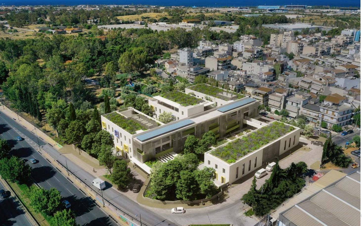 Νέο κτίριο Μετεγκατάστασης Συλλόγων ΑΜΕΑ εντός του Μητροπολιτικού Πόλου Ελληνικού-Αγίου Κοσμά