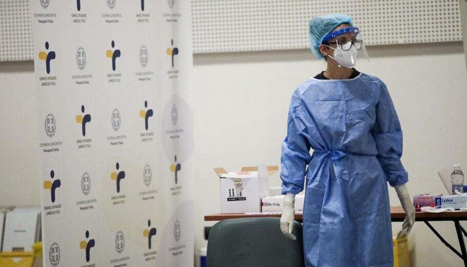 Διενέργεια rapid tests ©EUROKINISSI