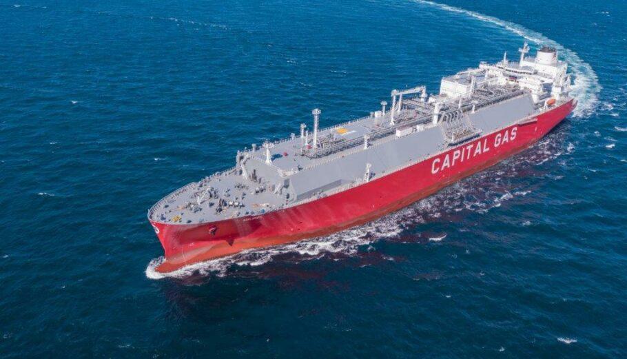 LNG Carrier Asklipios © Capital Gas