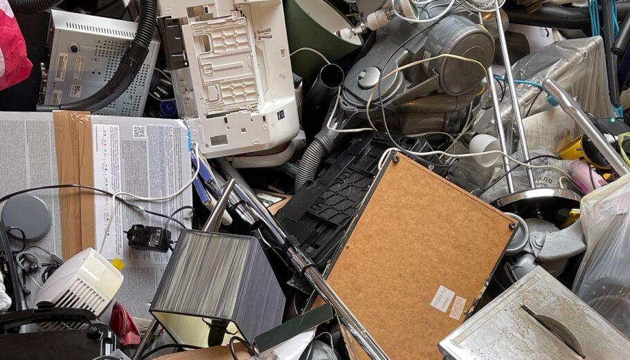 Ηλεκτρονικά απόβλητα © Unsplash
